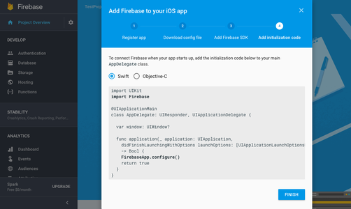 Firebase and Xcode