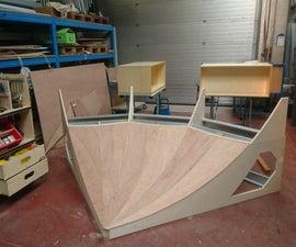 Wooden Skate Pool
