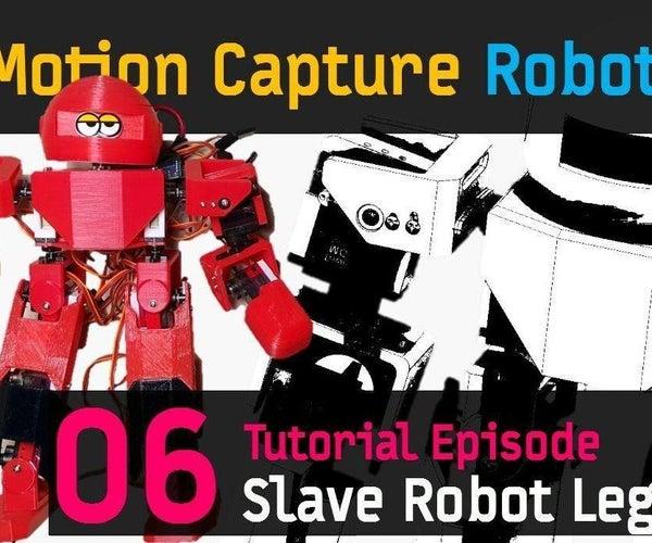 CHOOM [06] 21 Axis Humanoid (Slave) Robot