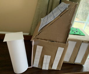 如何制作自制纸板屋