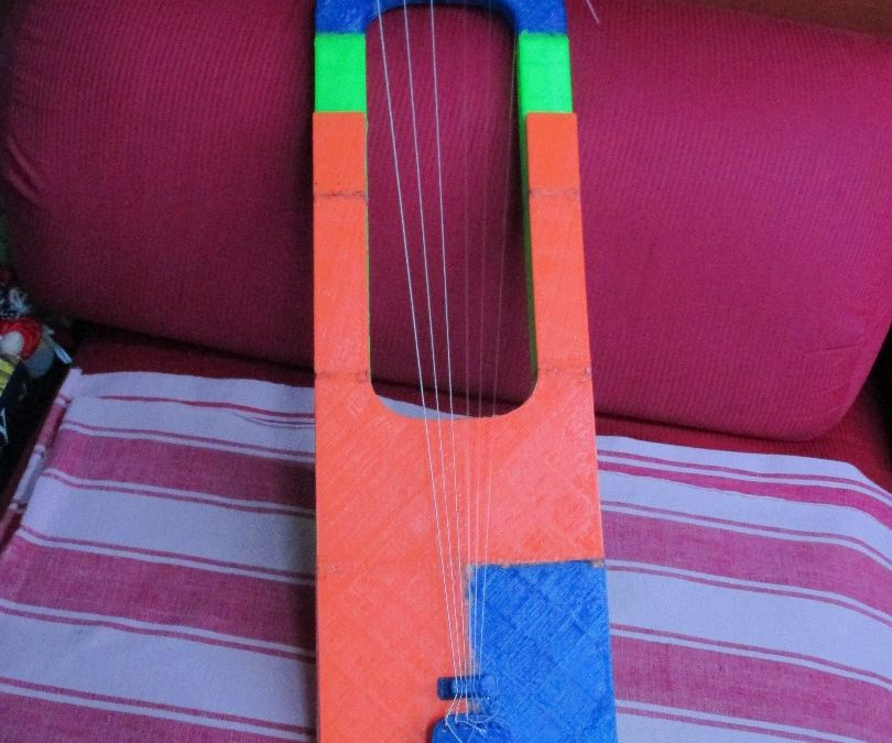 3D Printed Anglo Saxon Lyre
