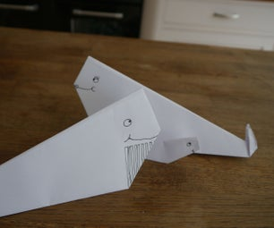How to Make an Origami Whale