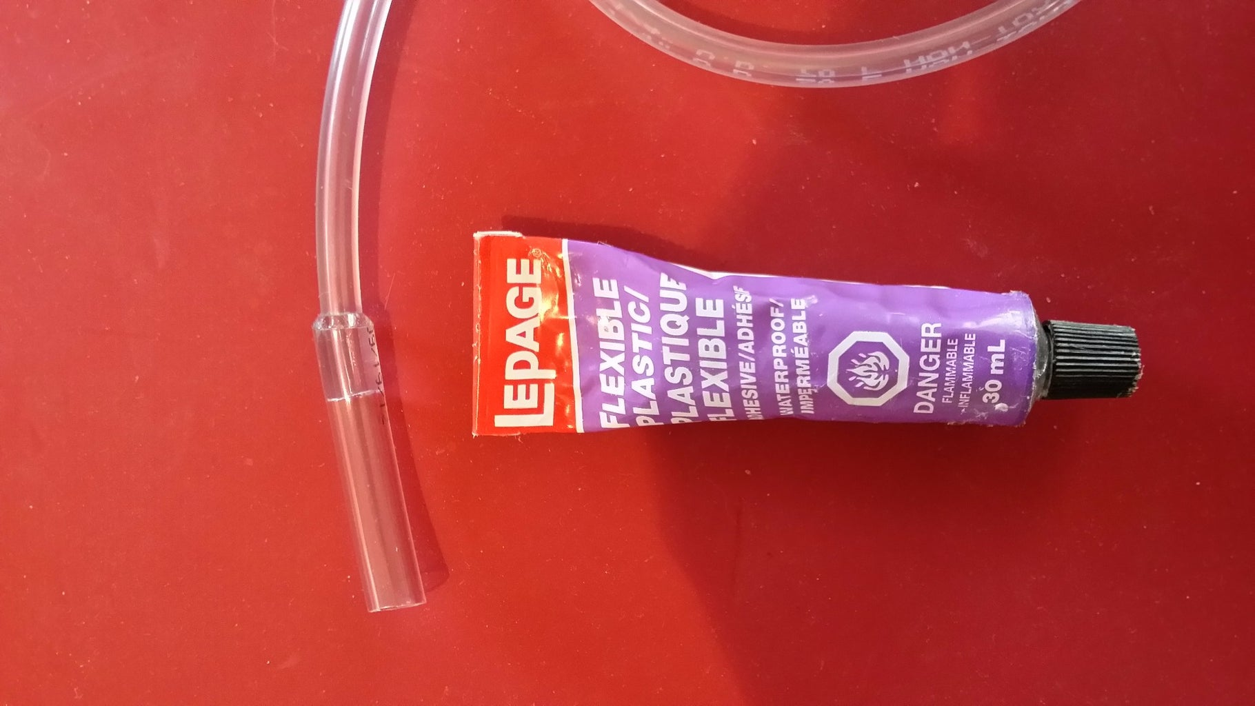 Glue Bigger Tube to Smaller Ones