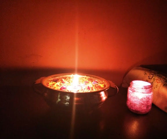 Make Your Own Glitter Jar and Tealight Candles at Home