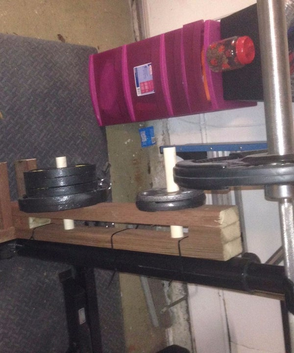 Plate Weight Rack