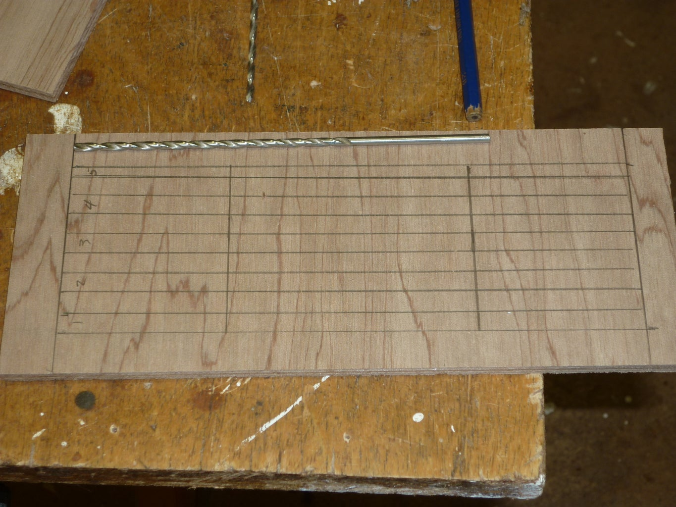 Marking and Drilling