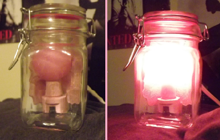 How to Make: a Fairy in a Bottle Night Light (Zelda)