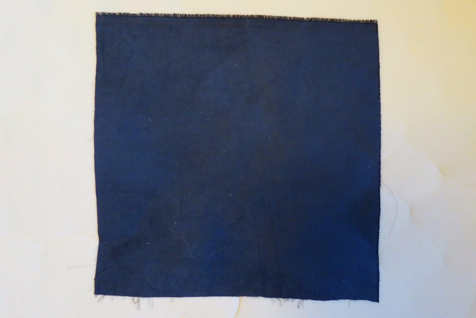 No-Sew Color-Block Pillows