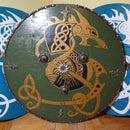 Awesome Wooden Viking Shield! Cool Viking Shield Design!