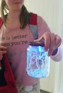 Joule Jar Lantern (a Joule Thief Driven Decorative Glass Jar LED Light)