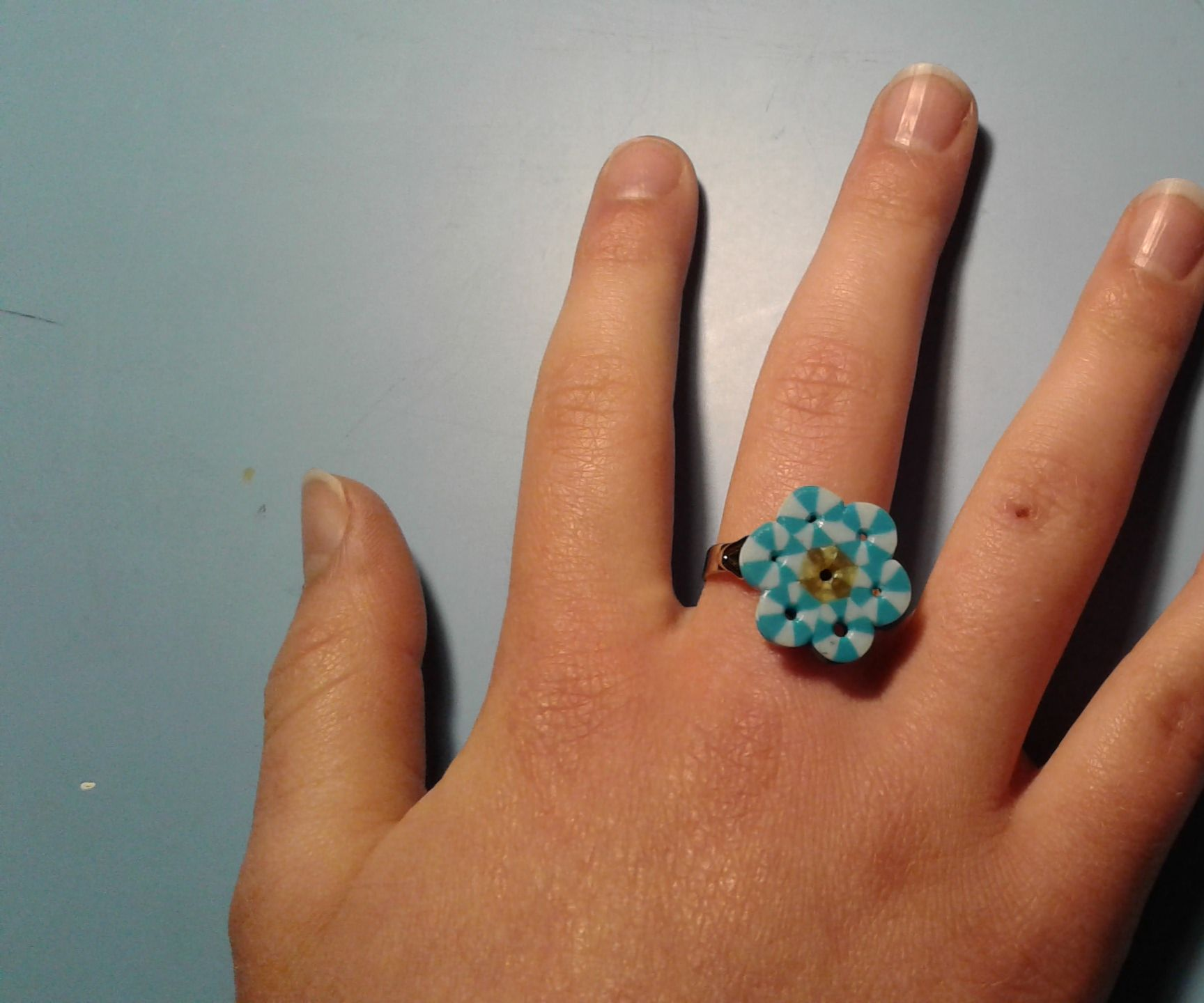 Perler Bead Ring