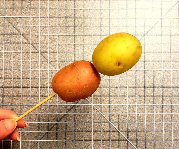 棍子上的土豆