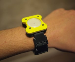 3D Printed Wrist Watch (which Almost Works)