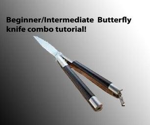 Beginner/Intermediate Butterfly Knife Combo