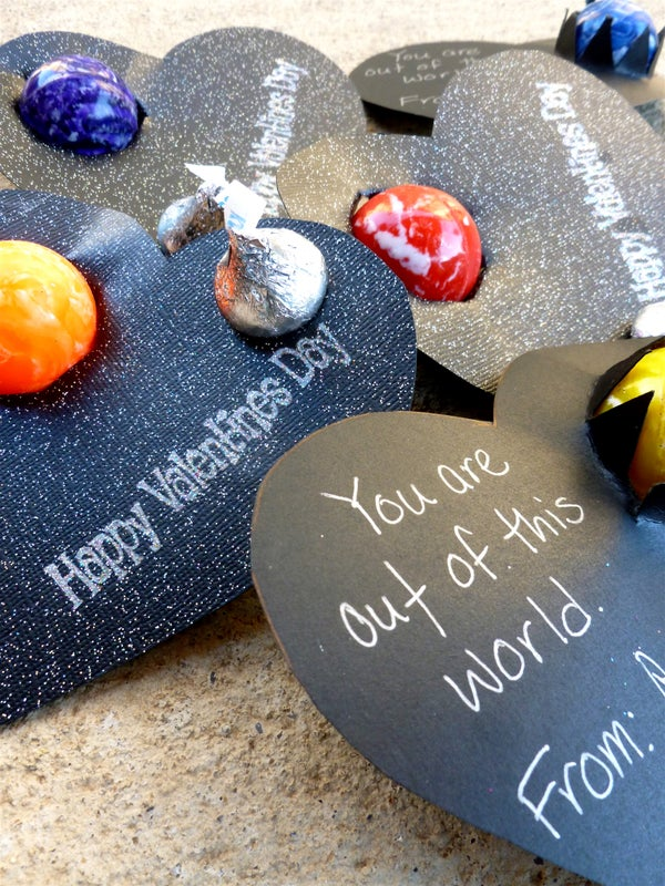 """""""You're Out of This World!"""" Kids Valentines"""
