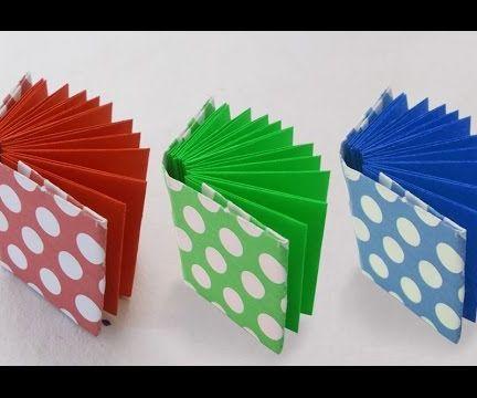 DIY Project Ideas : How to Make a Mini Modular Origami Book