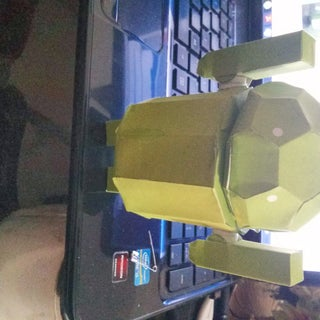 Android Robot - Print Out and Make