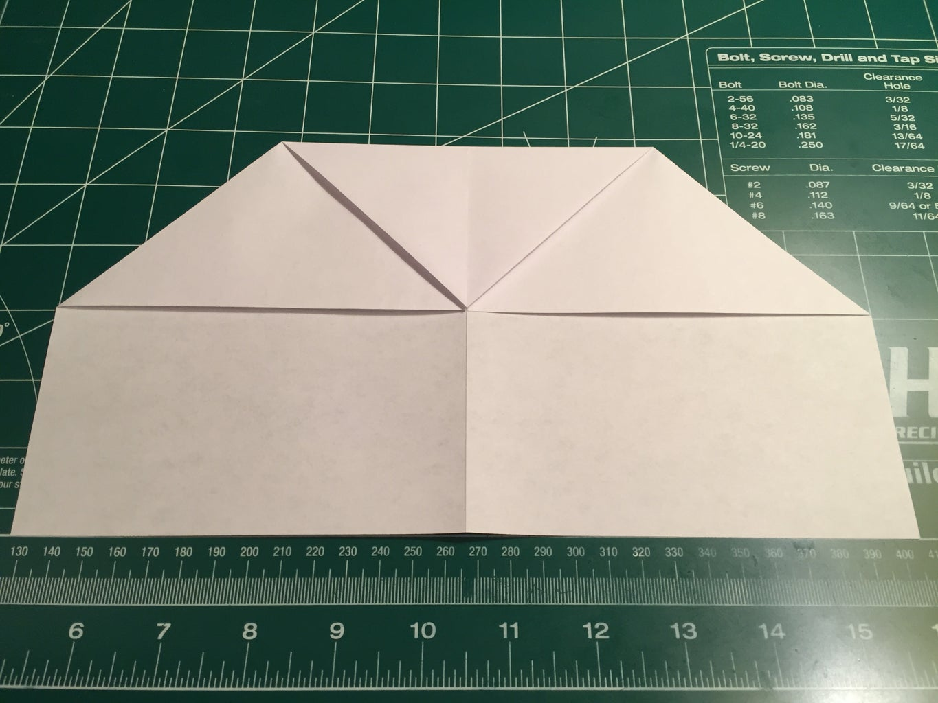Width, Nose and Leading Edge Folding