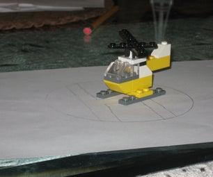 Mini Lego Helocopter