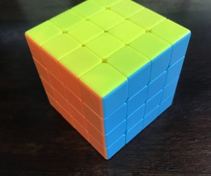 How to Solve a 4x4 Rubik's Cube