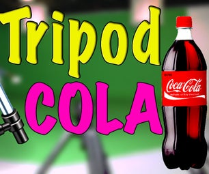 如何用可口可乐瓶制作一个单盖