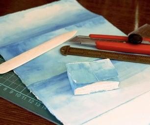 纸书盖无胶水或缝纫