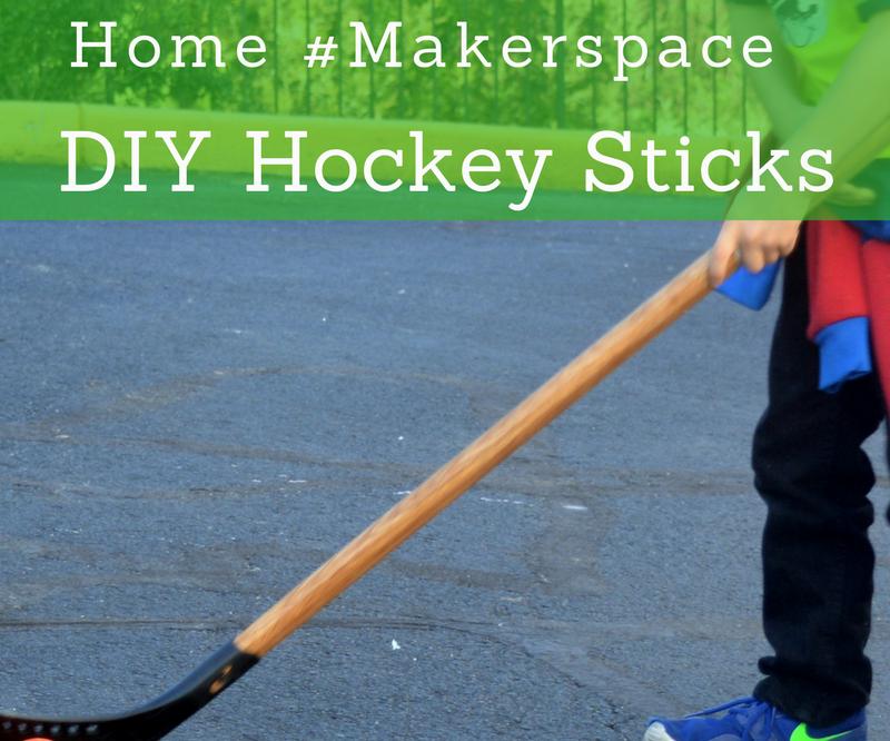 DIY Hockey Sticks!