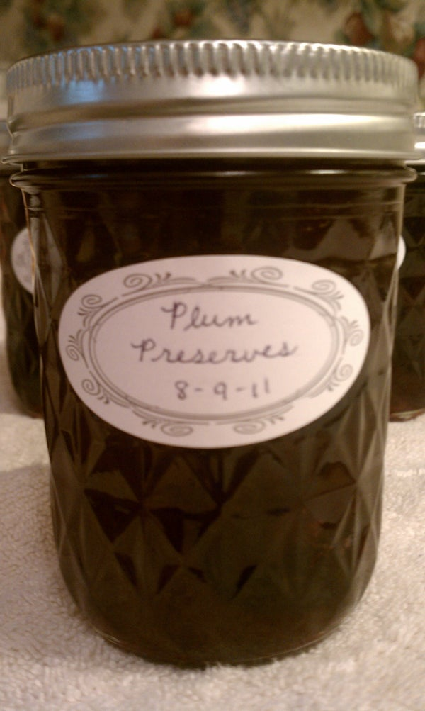 How to Can: Plum Preserves