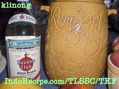 German Rum Pot (Rumtopf)