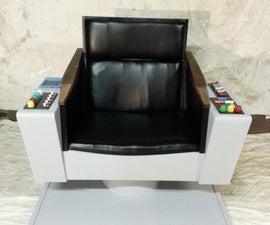 Captain Kirks Star Trek Chair With Sound
