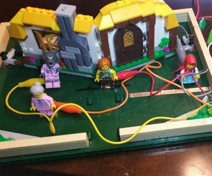 Interactive Lego Pop-Up Book With Makey Makey
