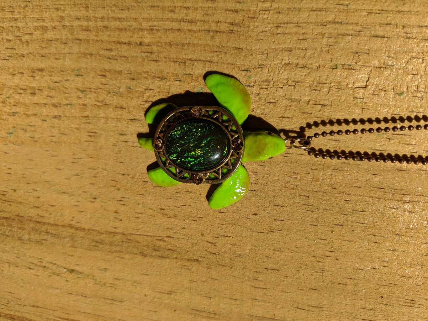 Glue on the Shell and Attach Earrings or Chain