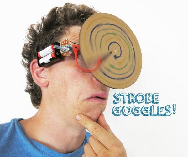 Strobe Goggles: Your Ticket to Stardom!