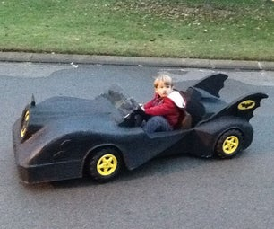 Power Wheels Barbie Jeep to Batman's Batmobile