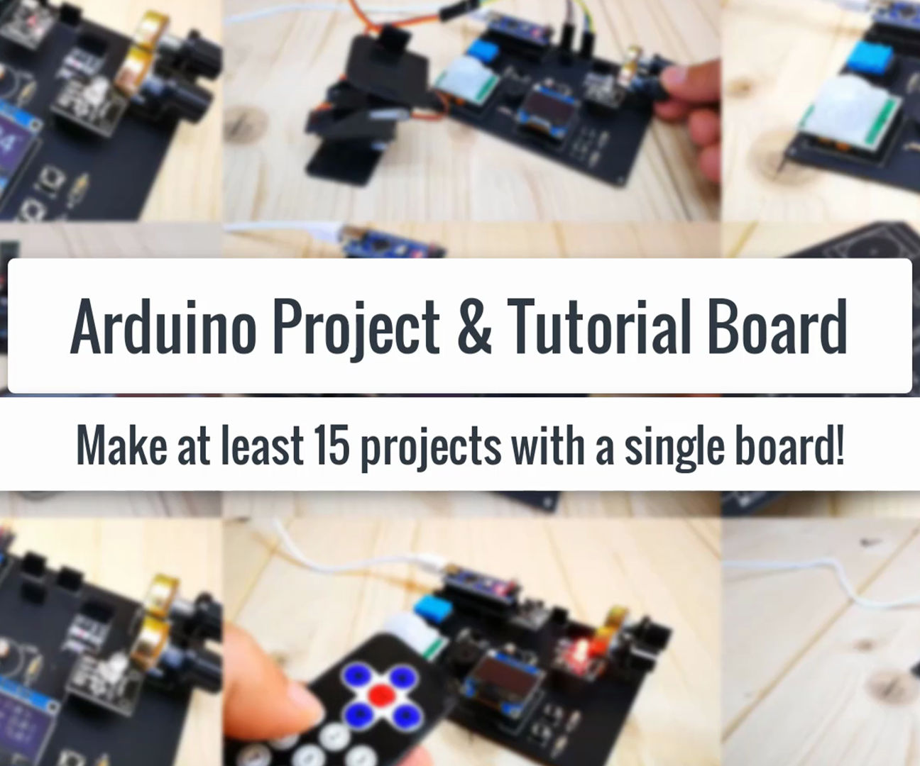 10 Basic Arduino Projects for Beginners! Make at Least 15 Projects With a Single Board!