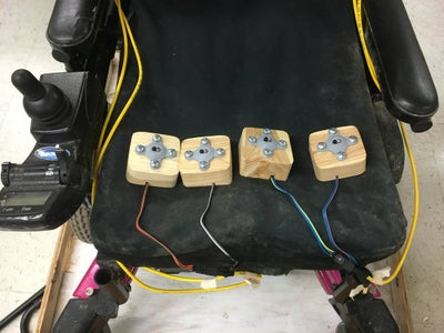 IR Proximity Wheelchair Controller
