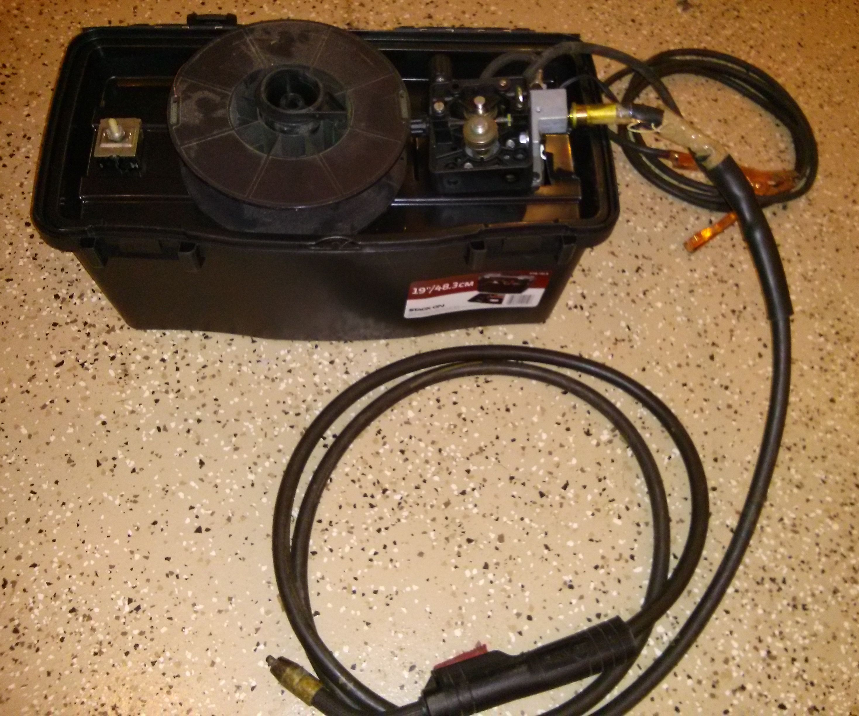 Car Battery Mig Welder
