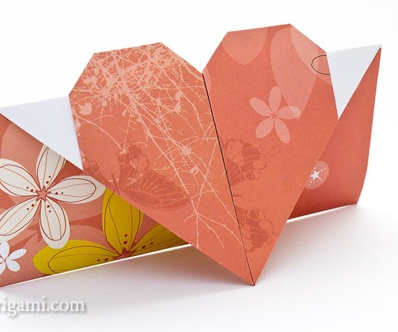 How to Make an Origami Valentines Heart Letter!