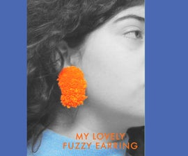 The Best Fuzzy Earring
