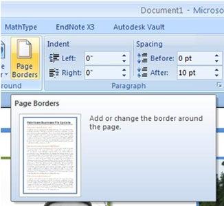 Add Page Border