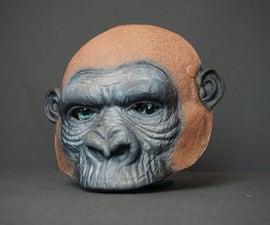 King Kong Mask With Animatronic Eyes