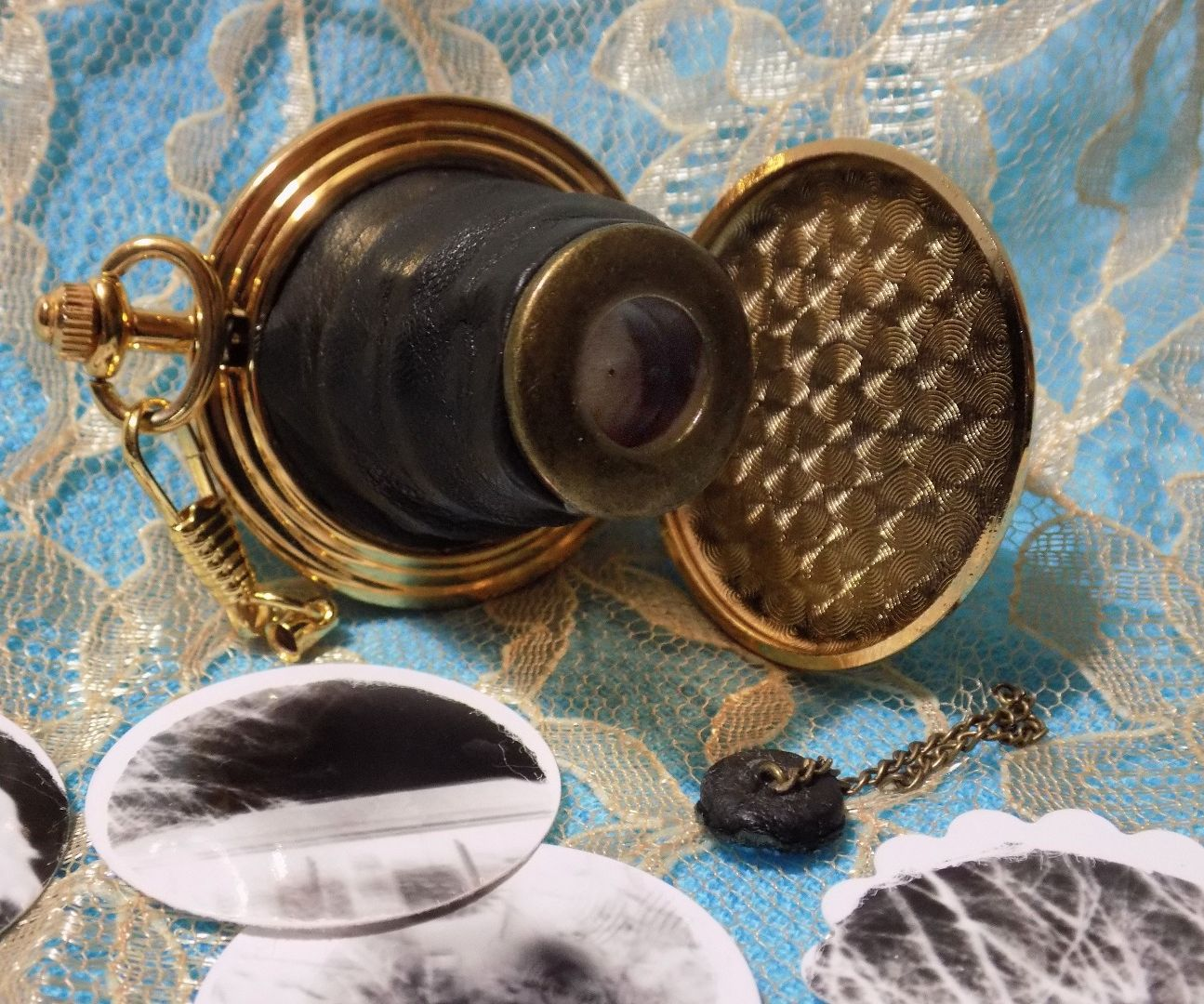 Pocket Watch Pinhole Camera