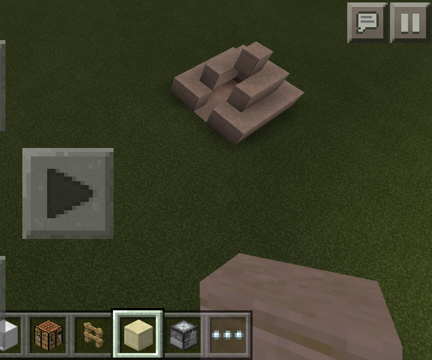 How to make a mini minecraft pyramid