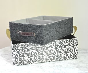 DIY Baskets(2 Ways) From Shipping Boxes