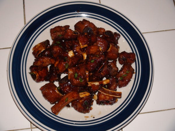 Super Sassy Sweet and Sour Pork Ribs