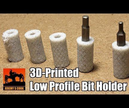 Low Profile Bit Holder