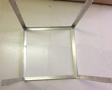Preparing the Aluminum Framework