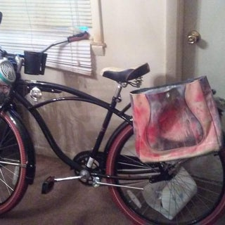 How to Make Panniers Out of Recycled Materials for Less Than 10 Bucks