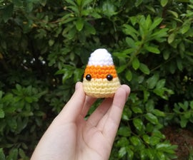 Easy Crochet Candy Corn - a Beginners Visual Guide-