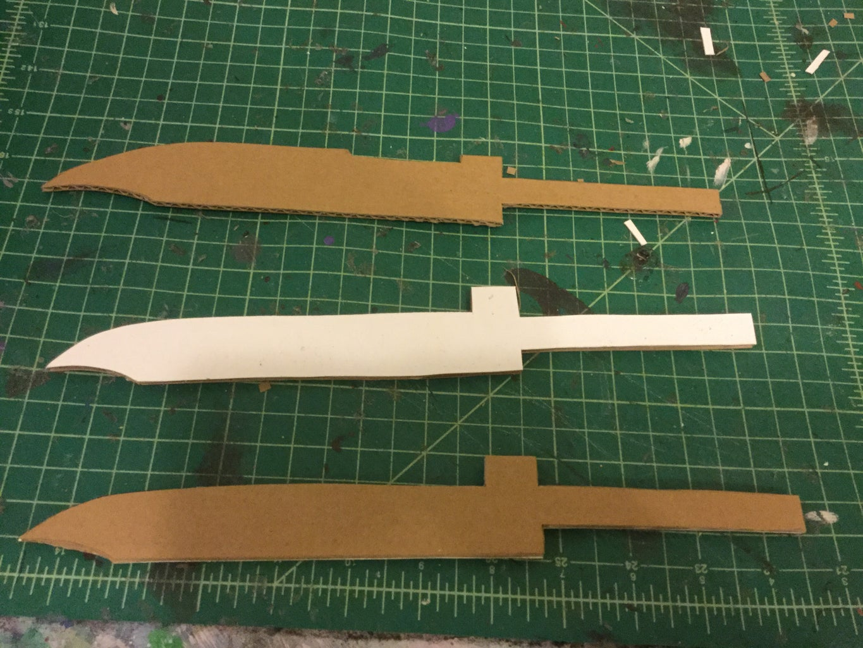 Knife and Sheath